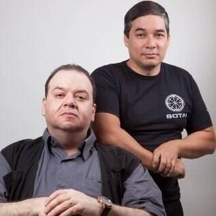 José Roberto Abrahão e Ricardo Nakayama, autores do livro 'Não seja mais uma vítima'