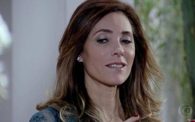 Tereza Cristina descobre que Barinski é o falso investidor do Brasileiríssimo.