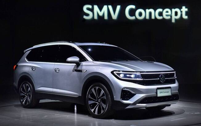 Além do SMV, o Salão de Xangai 2019 também contou com a apresentação de um novo conceito elétrico