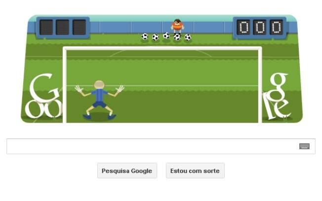 Novo doodle do Google faz homenagem aos atletas do futebol com game interativo