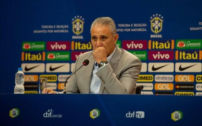Tite convocou Gabigol e Rodrigo Caio para os amistosos da seleção brasileira
