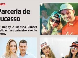 Be Happy e Mansão Sunset realizam seu primeiro evento juntos.