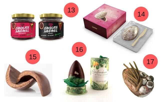 E mais algumas opções para finalizar a lista de produtos para ter uma Páscoa mais saudável