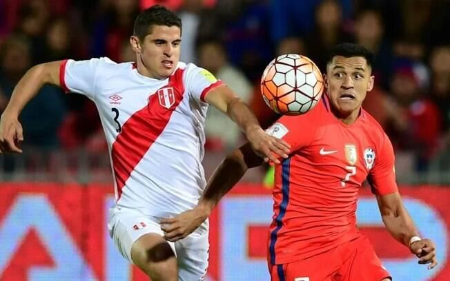 Duelo Chile x Peru define quem será o adversário do Brasil na final da Copa América