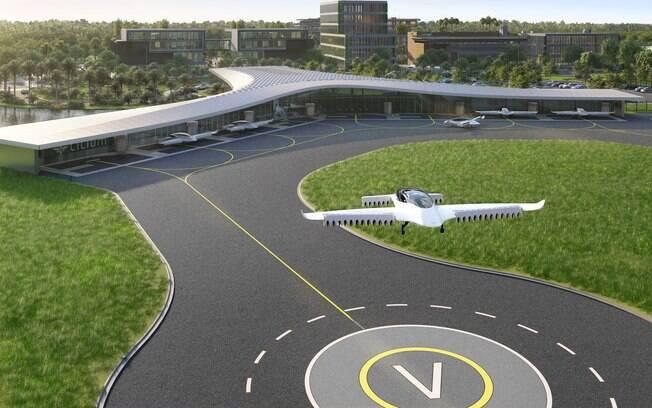 Lilium Vertiport, o primeiro aeroporto para carros voadores dos Estados Unidos