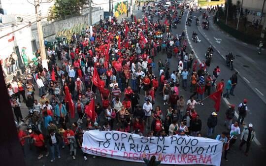 MTST muda estratégia e concentra protesto contra a Copa nesta quinta-feira - São Paulo - iG