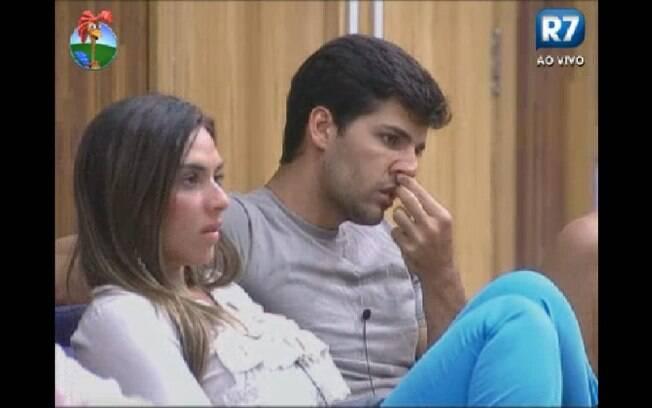 Diego acredita que será eliminado nesta quinta-feira