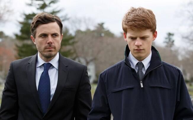 Os excelentes Casey Affleck e Lucas Hedges em cena de Manchester à Beira-Mar, que estreia nesta quinta-feira (19) nos cinemas brasileiros