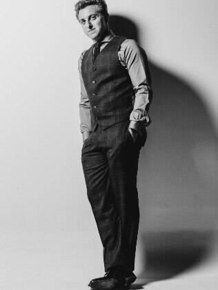 Luciano Huck para a GQ