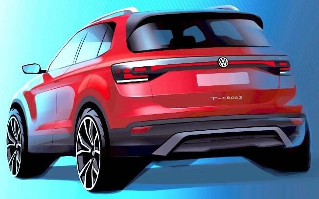 T-Cross é o novo SUV compacto da Volkswagen, que será produzido no Brasil e lançado no início de 2019