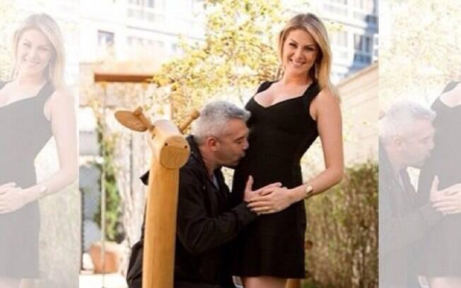 8e0cc2fdb Ana Hickmann entra em licença-maternidade e se despede do 'Programa da  Tarde'