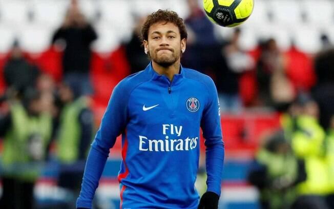 Neymar já está pronto para iniciar uma nova temporada com a camisa do PSG
