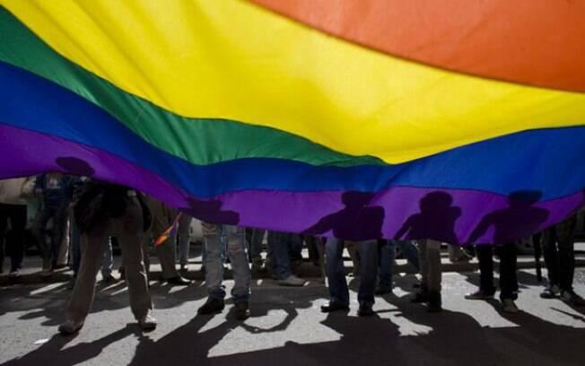 Parada do Orgulho Gay em Liubliana, capital da Eslovênia, em 2014