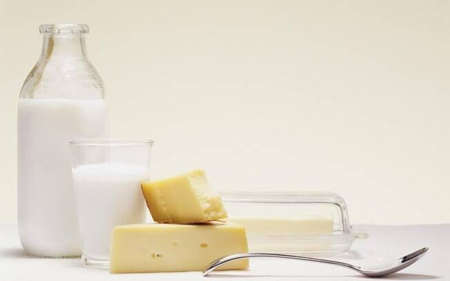 Manteiga está no grupo dos laticínios