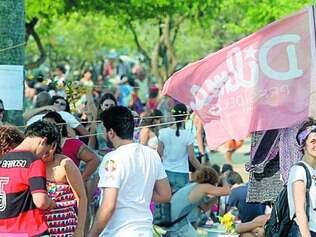 Apoiadores de Dilma se reuniram, ontem, no Aterro do Flamengo
