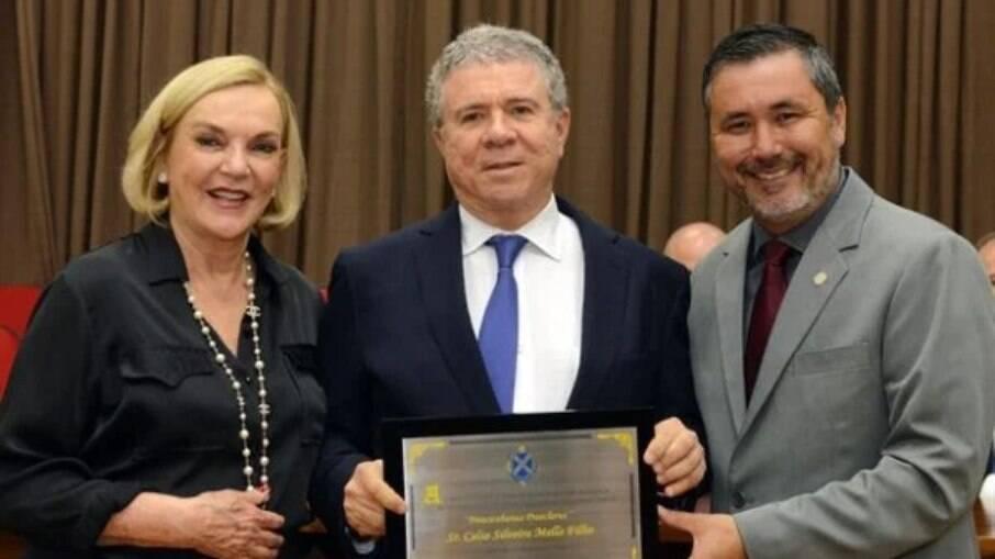 Celso Mello é homenageado em Piracicaba
