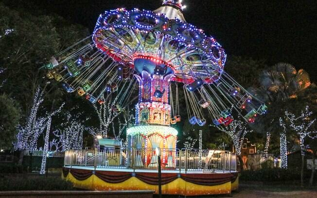 Parque de diversões do Festival Noeland
