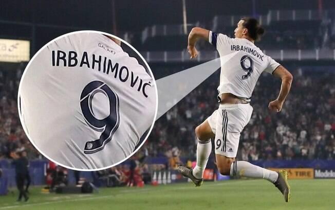 Gafes em camisas dos jogadores: Ibrahimovic virou Irbahimovic