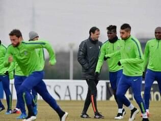 Equipe encerrou a preparação para encarar o Borussia, nesta terça-feira