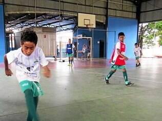 Projeto. Futsal é uma das modalidades a serem disputadas no festival