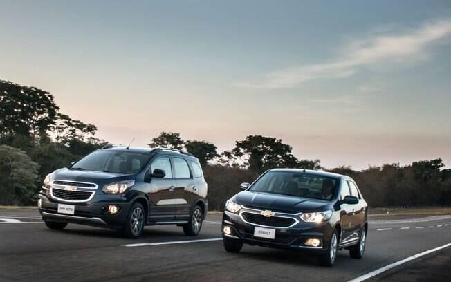 Com mudanças no motor 1.8, Chevrolet Spin e Cobalt tiveram uma grande melhora no rendimento, de até 30% no caso da minivan.