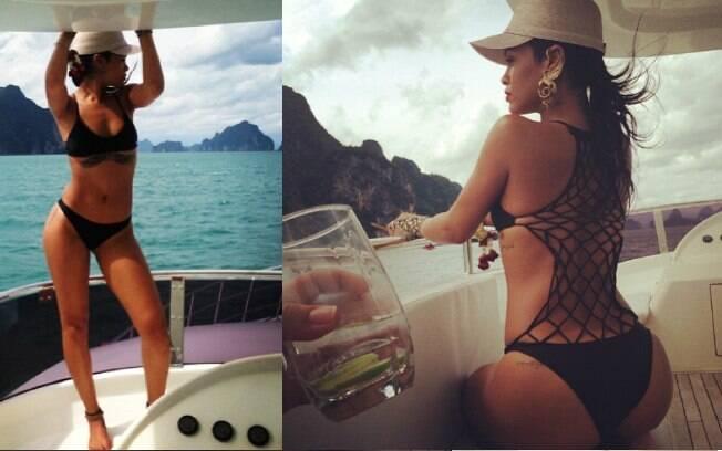 Rihanna exibe corpão no Instagram