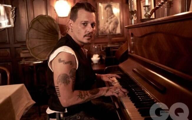 Johnny Depp é geminiano do dia 09 de junho de 1963