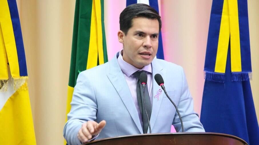 Vereador Diogo Castilho do DEM-MS