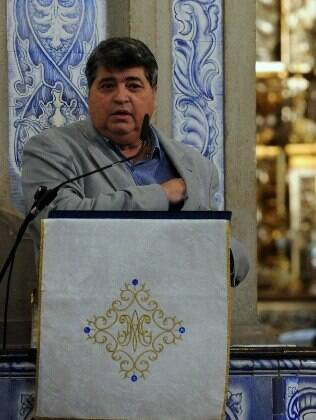 Datena faz discurso em homenagem a Luciano do Valle