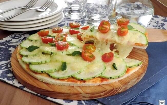 Pizza de abobrinha prática: pronta em 40 minutos