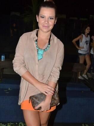 Fernanda Souza disse tuita as fotos dos shows de Thiaguinho para deixar as amigas com
