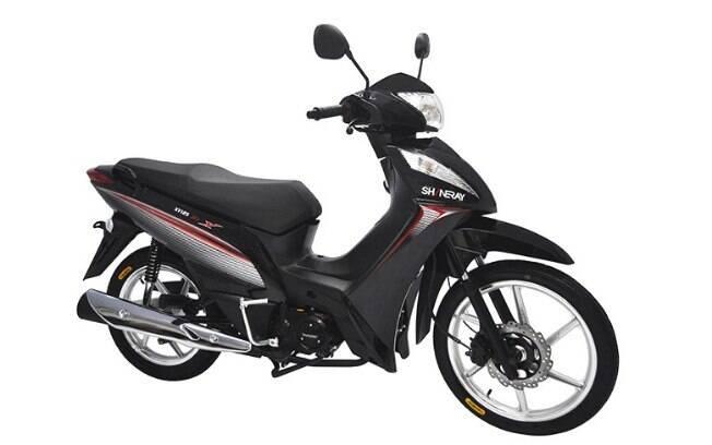 Eis a mais em conta entre as motos mais baratas do Brasil, bastante famosa em seu mercado de origem, a China