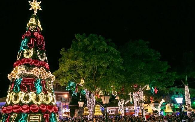 As luzes de Natal de Socorro são lindas!