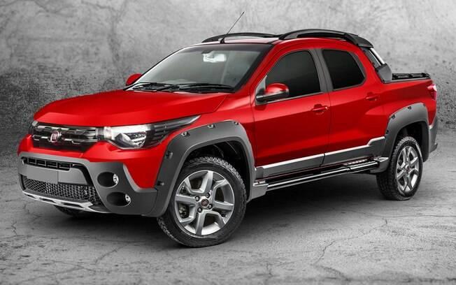 Fiat Strada da nova geração terá cara parecida com a do Mobi entre as principais novidades