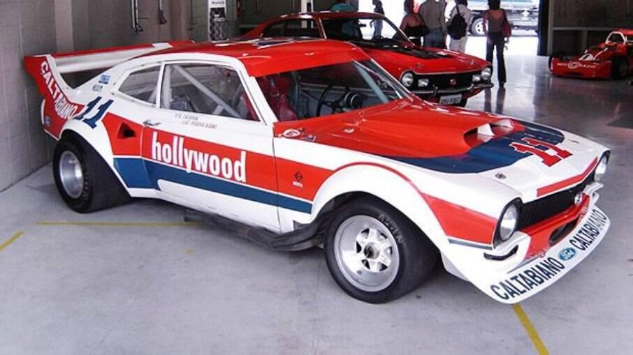 Ford Maverick fez sucesso no Autódromo de Interlagos com  pilotos como Luis Pereira Bueno, nos anos 70