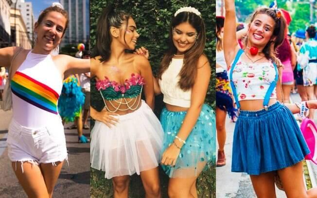 Não é preciso usar fantasia para se divertir no carnaval, algumas peças de roupa coringa e acessórios podem ser suficientes