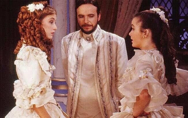 Betty Goffman (com Tato Gabus e Cláudia Abreu) fez uma participação especial como a Princesa Ingrid