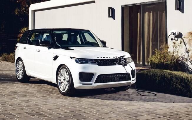 Range Rover Sport PHEV é um dos lançamentos do segmento de alto luxo que está previsto para o Brasil no ano que vem