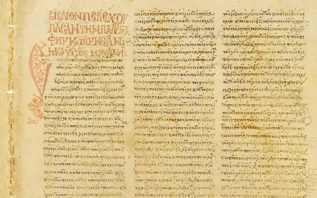 Manuscrito é do século 4º d.C e provavelmente veio do Egito