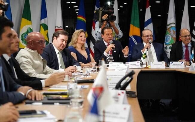 Governadores agradeceram auxílio que estão tendo do poder Legislativo