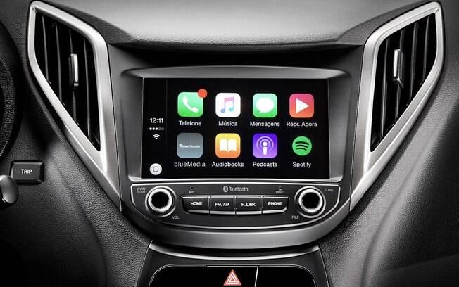 A Blue Media da Hyundai é a única central multimídia a contar com TV Digital na lista