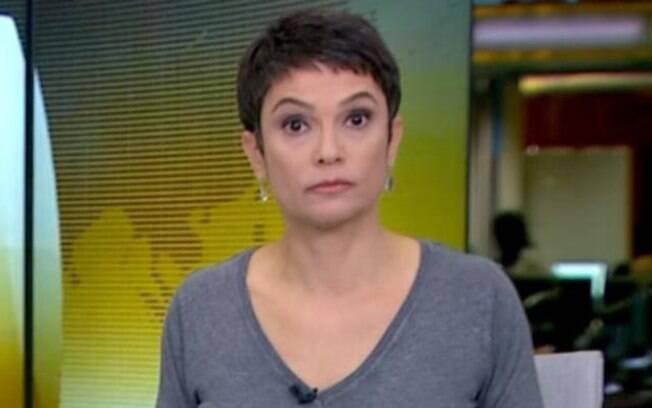 Sandra Annenberg revelou como ficou sabendo da morte de Boechat