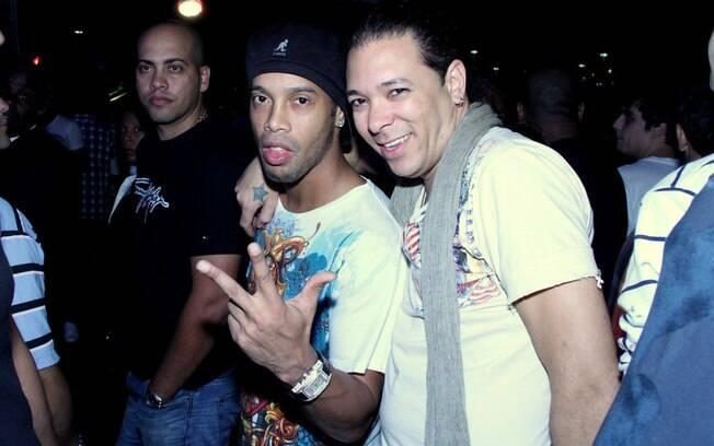 Ronaldinho Gaúcho e David Santiago
