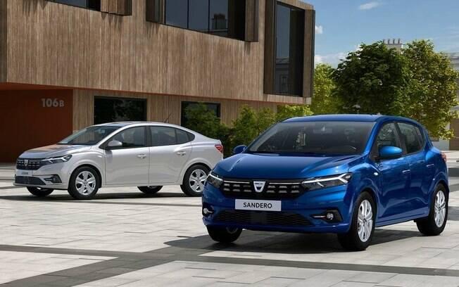Renault Sandero e Logan: nova geração fica bem diferente da atual, agora mais refinada para encarar os fortes rivais do segmento