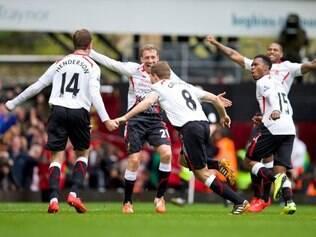 Vitória recoloca o Liverpool na liderança do Campeonato Inglês
