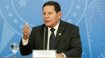 Mourão diz que Brasil não pode ser mendigo sobre desmatamento