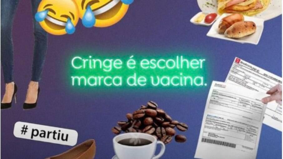 Campanha produzida pela prefeitura de Belém