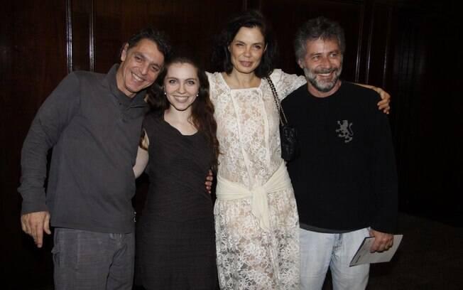 Guilherme Leme, Cecília Dassi, Alexia Dechamps e Leopoldo Pacheco