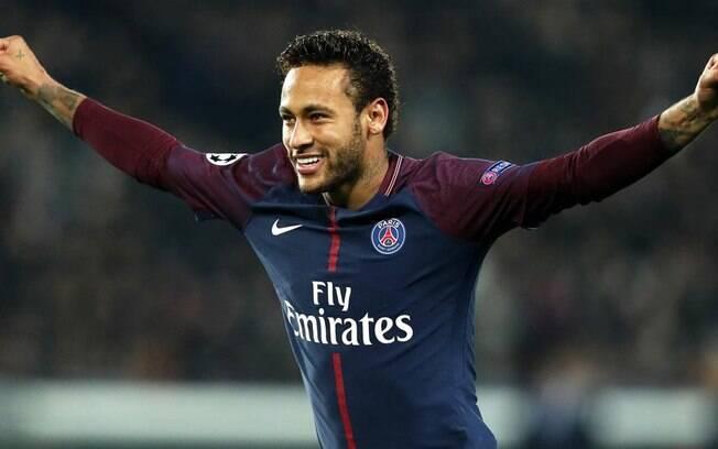 Neymar está feliz no PSG, mas é alvo do Real Madrid, que deseja vê-lo ao lado de Cristiano Ronaldo