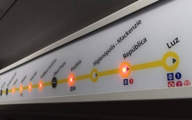 A estação Higienópolis - Mackenzie, da Linha 4-Amarela do Metrô, foi entregue hoje pelo governador Geraldo Alckmin
